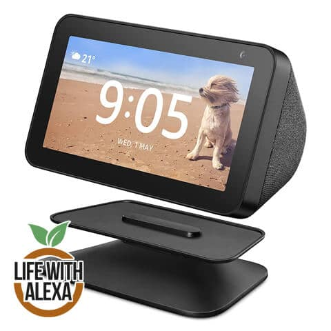 Echo Show 5 Adjustable Stand, Black