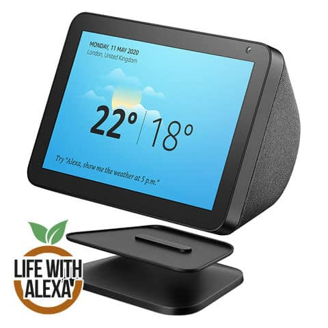 Echo Show 8 Adjustable Stand, Black