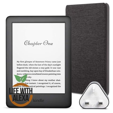 Kindle Essentials Bundle includes Kindle E-Reader