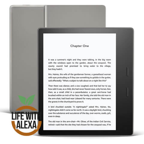 Kindle Oasis | Now with adjustable warm light