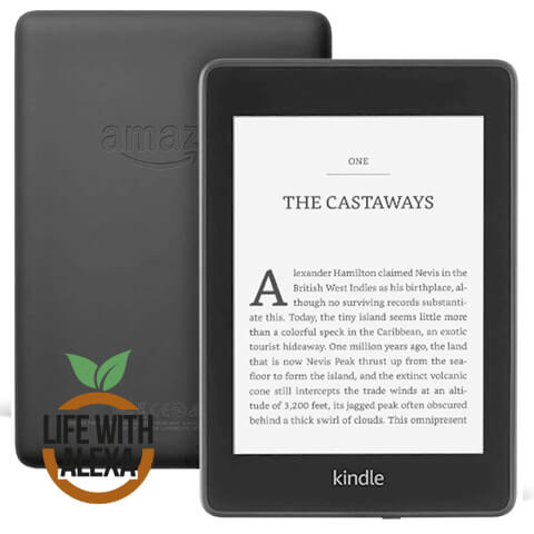"Kindle Paperwhite | Waterproof, 6"" High-Resolution Display, 8GB"