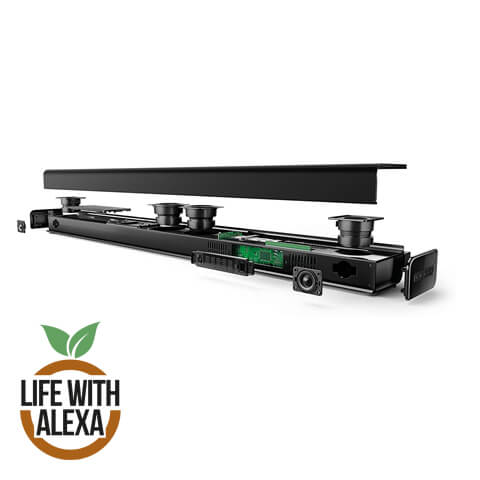 TCL TS8011 2.1 Channel Sound Bar with built-in subwoofer – Fire TV Edition