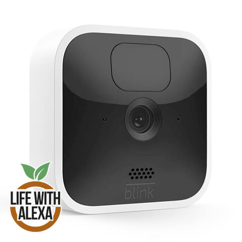 All-new Blink Indoor | Wireless, HD security camera with two-year battery life, motion detection