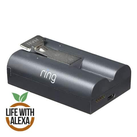 Ring Rechargeable Battery - Quick Release Battery Pack
